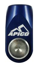 Apico Rear Brake Clevis KAWASAKI KX250 05-08 KXF250/450 04-14 BLUE