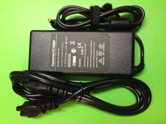 90W AC adapter charger for Fujitsu Fujitsu Lifebook AH532 AH550 LH530 power cord
