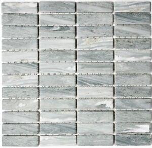 Keramikmosaik Grau Steinoptik Bad Wc Wand Dusche Kuche Pool Wb24
