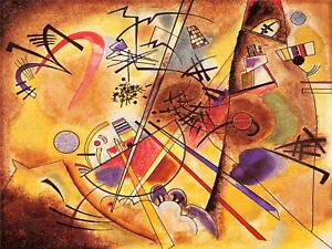 Wassily-Kandinsky-Abstract-Small-Dream-In-Red-Old-Art-Painting-Canvas-Art-Print