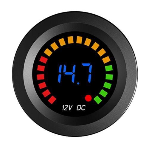 LED Digitales Farbdisplay Voltmeter Volt Panel M Digitales Panel Voltmeter