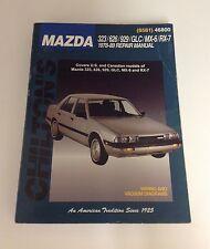 Chilton's Mazda 323/626/929/GLC/MX-6/RX-7