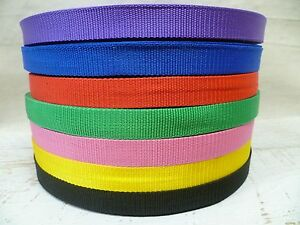 25mm-Webbing-5-Metres-Upholstery-Bag-Belt-Tape-Strap-Canvas-Tent-Strapping
