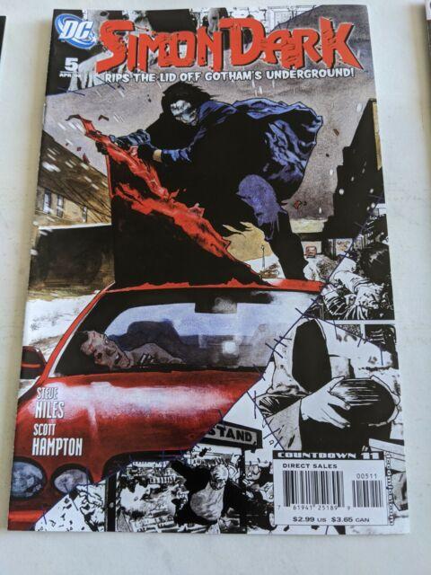 Simon Dark #5 April 2008 DC Comics Niles Hampton