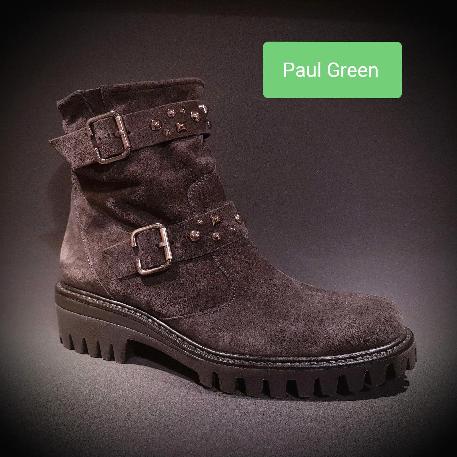 edizione limitata a caldo NUOVO Paul verde Stivali da donna grigio grigio grigio antracite suede pelle 9330 013 sale  acquisti online