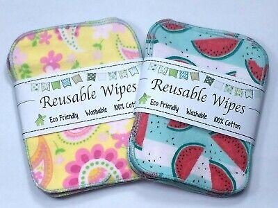 20 Reusable Cloth Wipes gray Bidet Wipes Eco Friendly Toilet Unpaper 2 ply
