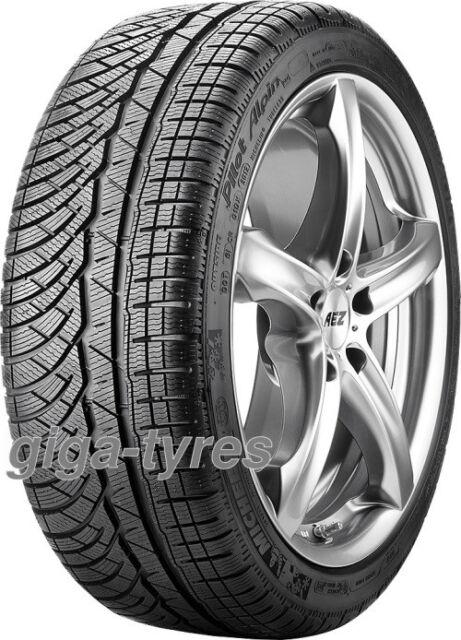 2x WINTER TYRE Michelin Pilot Alpin PA4 225/40 R18 92W XL with FSL M+S