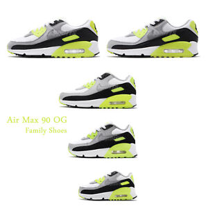 Details about Nike Air Max 90 OG 2020 Volt White Grey Black Men Women Classic Shoes Pick 1