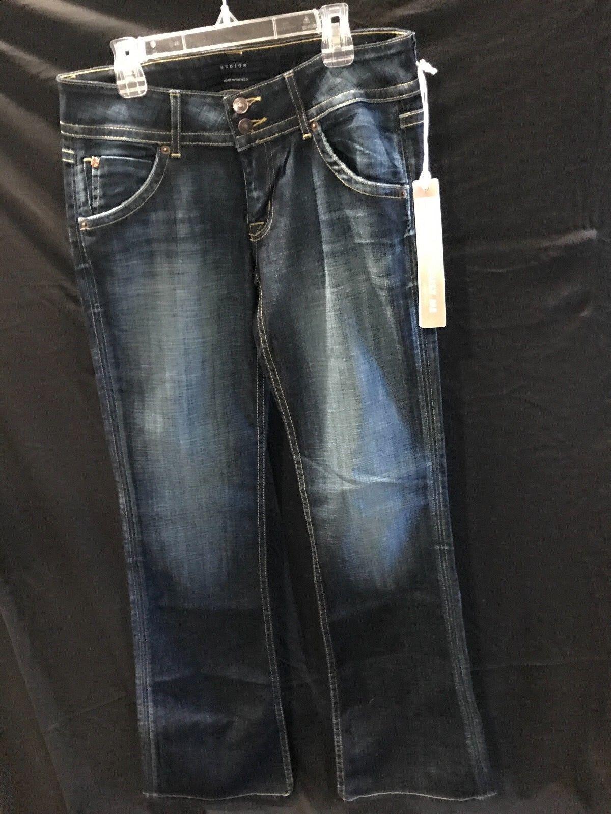 Brand New HUDSON Signature Boot Cut Women's Jeans denim Sz 28 jeans frame robins