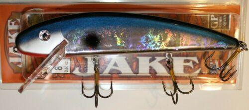 "8/"" Jake Musky Mania Muskie Pike Lure Crankbait Big Flash Silver Shad J8-872"