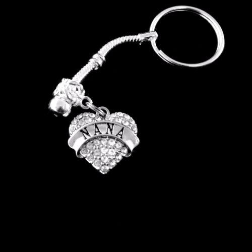 Nana Key chain Nana jewelry Nana gift Grandmother Grammy granny Mimi glamma gram
