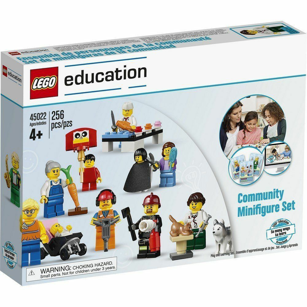 LEGO®  education 45022 Community Minifigure Set    - NEW   FACTORY SEALED 6de087