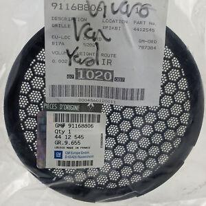 GENUINE Vauxhall / Opel Vivaro A Front Door Speaker Cover Grille 91168806