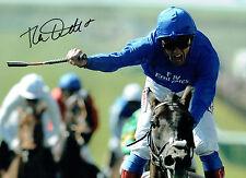 Frankie DETTORI Signed Autograph Italian Jockey 16x12 Montage Photo AFTAL