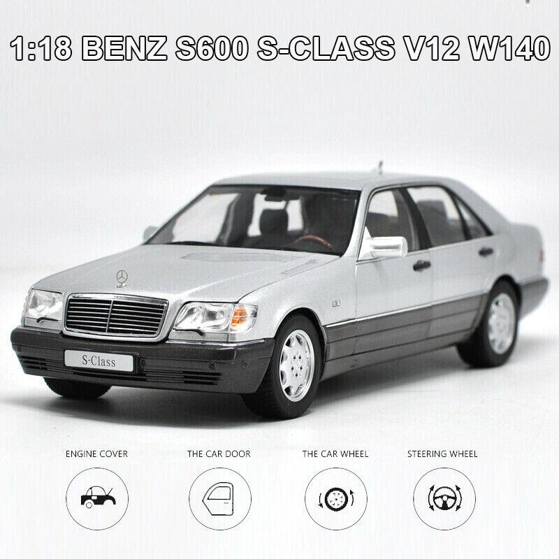 Nouvelle échelle 1 18 Benz S600 S-Classe V12 W140 Diecast DIE-CAST Modèle Jouet Voiture cars