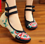Chinese-Embroidered-Floral-Shoes-Women-Ballerina-Flat-Ballet-Cotton-Loafer-snug thumbnail 28