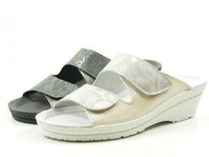 huge discount 8dd7f f1893 Details zu Rohde 1466 Neustadt -50 Schuhe Damen Pantoletten Clogs Weite G  Leder