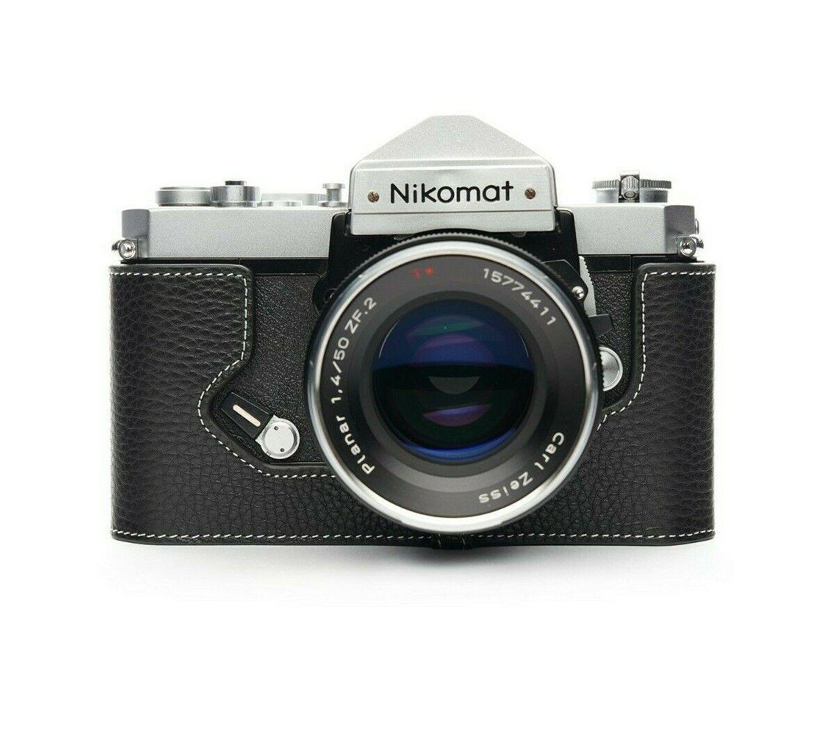 TP original camera half case for Nikomat FTN
