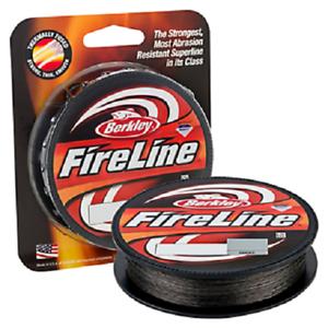 Berkley FireLine Fused Original Braided Fishing Line Smoke 6lbs 125Yds BFLFS6-42