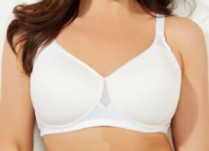 26b245c585 42D Bra - Catherines White No-Wire Comfortably Cool Full Coverage T ...