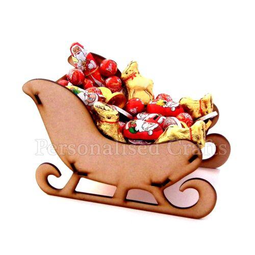 MDF en Bois Noël le traîneau du Père Noël Noël Décoration
