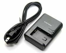 New Battery Charger For Canon VIXIA HF200 VIXIA HG20 HG21 HF G10 HFG10 M30 HFM30