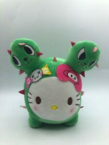 Hello-Kitty-Green-Cactus-Tokidoki-Sanrio-Characters-Plush-Stuffed-Toy-Animal