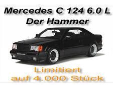 Mercedes-Benz C 124 6.0 L  Limitiert auf 4.000 Stück  Otto Models  1:18  OVP