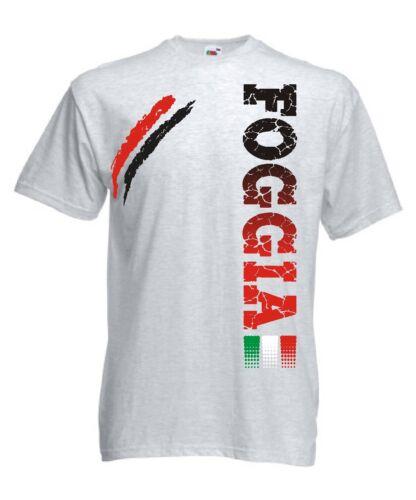 t-shirt FOGGIA sport maglietta calcio ultras tifosi
