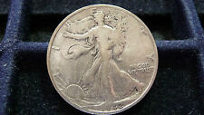 1942-S WALKING LIBERTY SILVER HALF IN VERY GOOD CONDITION (SEE PICTURES)