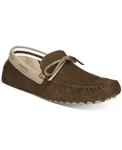 b7f88d546a588 Lacoste Men Concours Lace 116 1 Nubuck Shoe Dark Brown Loafer Sz 7 ...