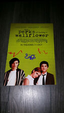 "THE PERKS OF BEING A WALLFLOWER PP SIGNED 12""X8"" A4 PHOTO POSTER EMMA WATSON"