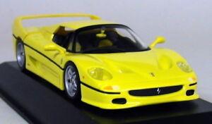 Minichamps-1-43-Scale-430-075151-Ferrari-F50-1995-Yellow-Diecast-Model-Car