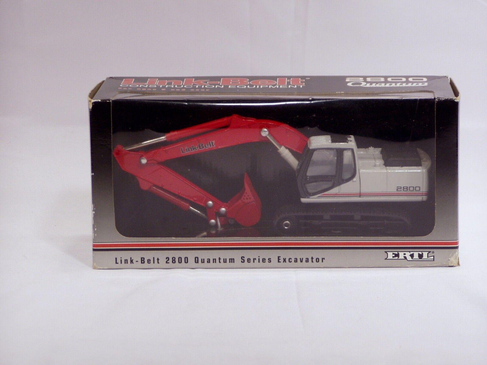 Link Belt 2800 Quantum Excavator - 1 50 - Ertl MIB