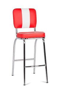 Barstuhl-Paul-4er-Set-American-Diner-50er-Jahre-Las-Vegas-Retro-Rot-Weiss