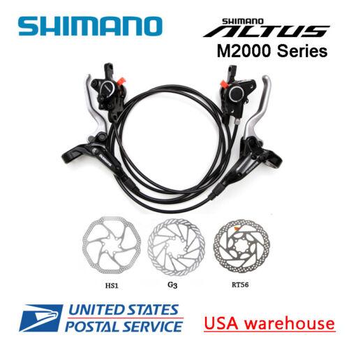 Shimano BR-BL-M355 M365 MT400 MT420 Hydraulique Bicyclette Disque Set Frein F/&r