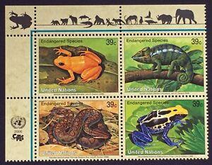 Briefmarke-Vereinten-Nationen-New-York-Yvert-Und-Tellier-N-985-Rechts-988-N
