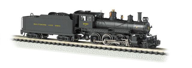 Baltimore & Ohio 4-6-0 Steam Locomotive w/DCC Cab #2020 Bachmann 51461 N Scale
