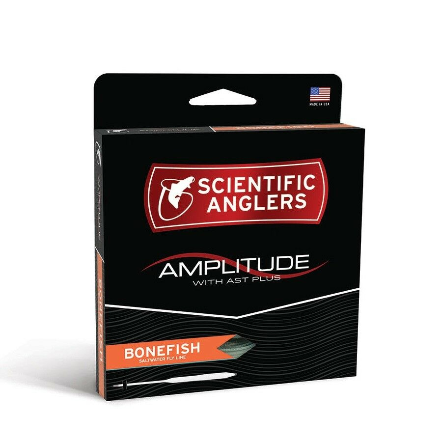S A Amplitude Bonefish Fly Line - WF8F - New