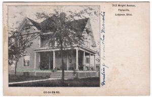 212-WRIGHT-AVENUE-Floraville-LEBANON-Ohio-1906-POSTCARD