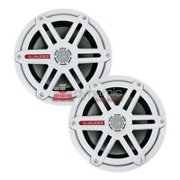 Jl Audio M650-ccx-sg-wh 6-1/2 Marine Speakers With White Sport Grilles
