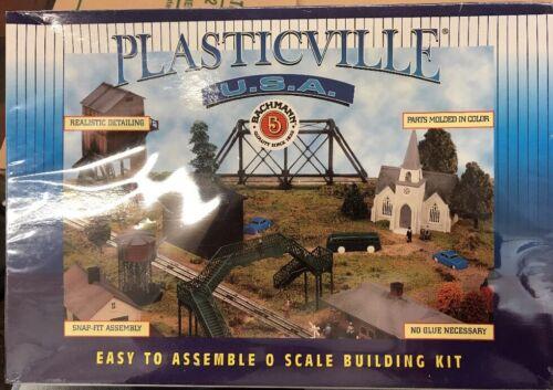 1A Bachmann Plasticville #45983 Hobo Jungle Sealed