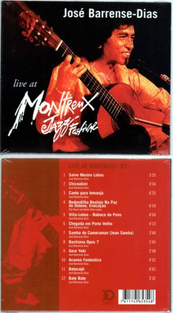 "JOSE BARRENSE-DIAS ""Live At Montreux Jazz Festival"" (CD Digipack)  NEUF"