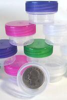 12 Empty Cute Lip Gloss Jars Makeup Beauty 1/4oz 1tsp Diy Face Skin Care Size