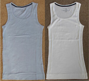 Tommy-Hilfiger-Designer-Ladies-Sleeveless-Ribbed-Vest-Tank-Top-T-Shirt-Bargain