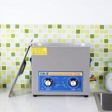 10l Qt Ultrasonic Cleaner 300w Digital Heated Industrial Parts Timer Amp Heater