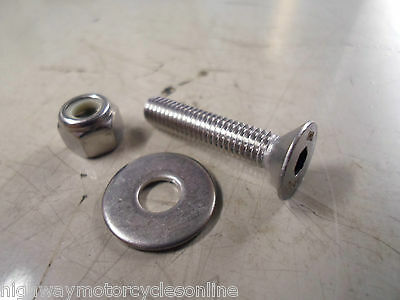 PROJECT M8 8MM A2 STAINLESS STEEL HEX HEAD  BOLT WITH NUT AND WASHERS