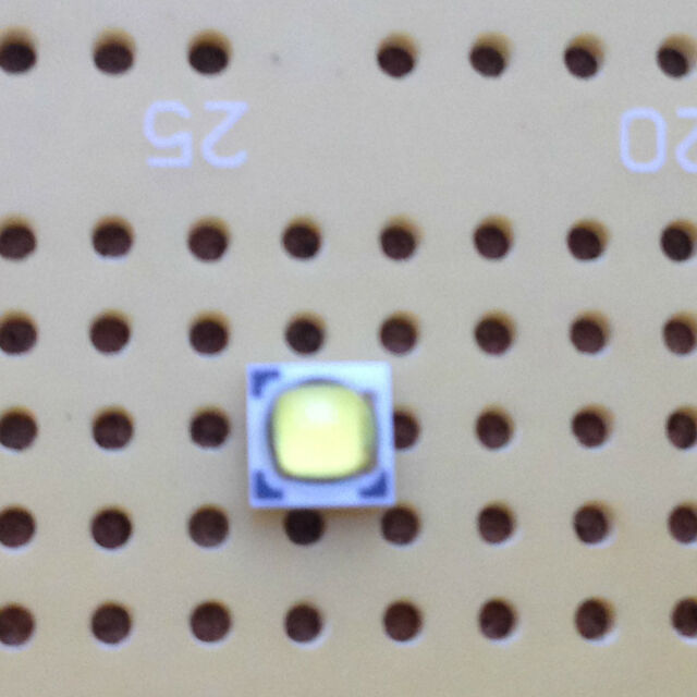 Luxeon T Lumileds Cool White 5000K 300lm 3W LED Emitter /& Star Mounted 80CRI