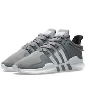 95acd581d Men s Adidas Originals EQT SUPPORT ADV B37355 Grey Cloud White Black ...