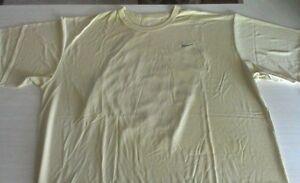 Nike Dri-Fit T-shirt Nikefit Gold Mens Size small Sports Athletic 1pc